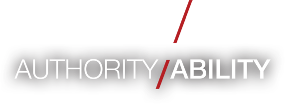 Authority / Ability - Learn More